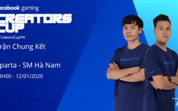 Chung Kết Facebook AOE League Creator Cup: SM Hà Nam nghênh chiến Sparta của Chim Sẻ Đi Nắng