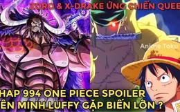 Spoiler One Piece Chap 994: Yamato xả thân đỡ đạn cứu Momonosuke, Apoo ôm thuốc giải bệnh dịch của Queen chạy trốn
