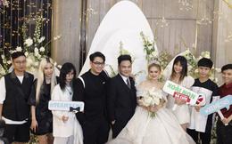 Ngày cưới Xemesis - Xoài Non, 3 cặp cặp đôi trai tài, gái sắc thế hệ mới của làng stream Việt tay trong tay, tình tứ khỏi nói