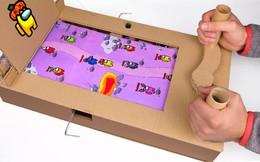 [Nghịch khôn] Tự làm máy chơi Among Us tại nhà bằng bìa carton