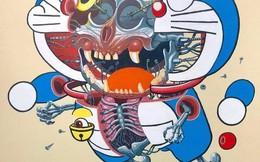 Bộ tranh cắt lớp các nhận vật manga đình đám, Doraemon trông sợ hết hồn