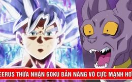 Dragon Ball Super: Goku liệu đã đủ sức để đánh bại Thần Hủy Diệt Beerus ở thời điểm này hay chưa?
