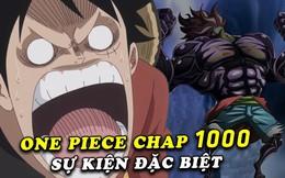 Spoil nhanh One Piece chap 1000: Luffy tuyên bố sẽ trở thành Vua Hải Tặc trước mặt Kaido và Big Mom