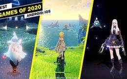 Top game được chơi nhiều nhất trên Android và iOS trong năm 2020, Genshin Impact số 1, Among Us số 2