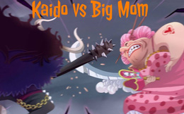 One Piece: Chứng kiến cảnh Kaido đánh Bigmom mà cứ tưởng đang xem Dragon Ball