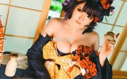 """Người đẹp """"tra tấn"""" khán giả với vòng một nóng bỏng khi hóa thân thành nhân vật trong Fate / Grand Order"""