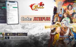 Không để tân thủ phải thiệt thòi, JX1 Huyền Thoại Võ Lâm tặng code khủng toàn server cho anh em khuấy đảo chiến trường
