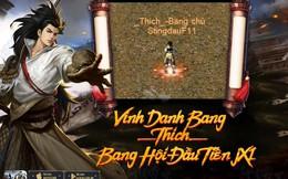 Tận nửa năm mới ra mắt tính năng Bang Hội, Huyền Thoại Võ Lâm JX1 khiến game thủ phát hờn ganh đua