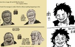 One Piece: Phiên bản về già của 7 nhân vật nhiều fan yêu thích do chính tay Oda vẽ