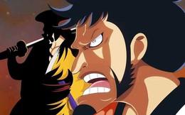 One Piece chap 991: Kinemon cắt đôi quả cầu lửa của Kaido, liệu Oda có buff cho Cửu Hồng Bao này quá đà?