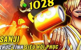"""Spoil nhanh One Piece chap 1028  """"Anh ba"""" Sanji toả sáng, gen chiến binh dường như được thức tỉnh?"""