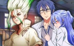 """Science Fell in Love: Bộ manga """"não to"""" đình đám mới nổi, đối thủ chính của Dr. Stone?"""