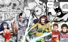 5 phiên bản Manga dị nhất của các siêu anh hùng đến từ vũ trụ DC, Marvel