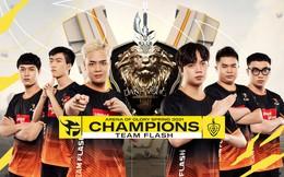 Gần một ngày sau chiến thắng đẹp như mơ, tuyển thủ Team Flash khẳng định: Sự chỉ trích tạo nên sức mạnh!