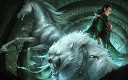 Số phận những đứa con của thần Loki trong thần thoại Bắc Âu