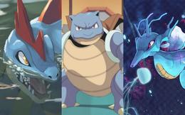 Loạt 6 Pokémon hệ nước nổi tiếng bậc nhất từ trước tới nay