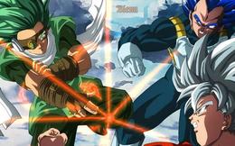 Dragon Ball Super chap 76 liệu có chứng kiến cảnh Granola giết Vegeta ngay trước mặt Goku?
