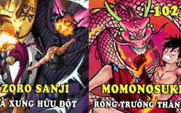 """Spoil đầy đủ One Piece 1023: Zoro giống hệt Ryuma, Momonosuke hoá rồng trông cứ như """"bản sao"""" của Kaido"""