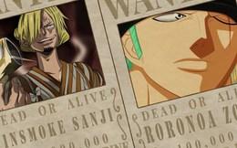 One Piece: Sau arc Wano liệu số tiền truy nã của Zoro có tiếp tục thấp hơn Sanji hay không?