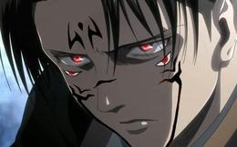 Khi dàn nhân vật Attack on Titan bị Vua nguyền hồn Sukuna trong Jujutsu Kaisen nhập, tạo hình của Levi ngầu bá cháy