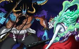 """Spoil đầy đủ One Piece chap 1024: Kaido muốn bỏ đói """"con trai"""" đến chết vì dám tự nhận mình là Oden"""