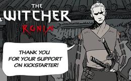 """Gọi vốn dự án manga The Witcher, CD Projekt nhận về 18 tỷ VNĐ để phát triển """"Geralt Nhật Bản"""""""