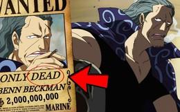 One Piece: Mức truy nã của Benn Beckman là bao nhiêu khi các chỉ huy băng Tứ Hoàng khác đã được tiết lộ?