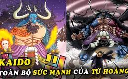 """One Piece: Tiếp tục bị đánh hội đồng trong chap mới, Kaido chứng minh đẳng cấp của """"sinh vật mạnh nhất thế giới"""""""