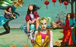 Trái với nhiều dự đoán, poster mới của Birds of Prey không chỉ tập trung vào Harley Quinn