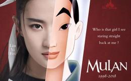 """Nhìn """"Mulan"""" Lưu Diệc Phi đánh võ, bỗng dưng Triệu Vy bị """"gọi hồn"""" cùng một loạt tranh cãi"""