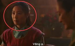 Hóa ra chị gái Hoa Mộc Lan trong teaser Mulan 2020 của Lưu Diệc Phi là nữ diễn viên gốc Việt