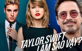 Taylor Swift sắp thành nữ hoàng thị phi: Hết bị