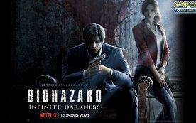 Hé lộ thời điểm côn chiếu Resident Evil Infinite Darkness trên Netflix