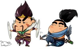 Cười ngất với phiên bản cosplay LMHT của Shin 'Cậu Bé Bút Chì'
