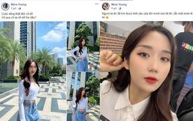 Noway vừa hẹn hò cùng hot girl 'Người Ấy Là Ai', cô Mina Young đã đăng status tâm trạng, tuyên bố 'tuyển người yêu'