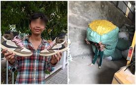 Làm bốc vác nhưng lại sở hữu tủ giày lên tới hàng chục triệu, nam thanh niên khiến cộng đồng mạng tranh luận không ngớt