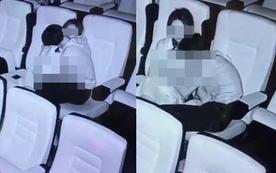 Nam thanh niên dùng bàn tay hư hỏng sờ soạng bạn gái giữa rạp chiếu phim, đáng chú ý nhất là thái độ của