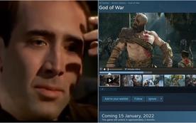 """God of War lên PC với mức giá """"gây sốc"""", chơi tạm game mobile lấy cảm hứng từ Kratos được tải về miễn phí"""