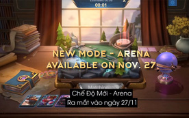Mobile Legends: Bang Bang VNG nâng tầm trải nghiệm cho game thủ với chế độ chơi mới - Arena
