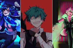 My Hero Academia: Học sinh lớp 1-A lắc mình hóa tội phạm nguy hiểm qua loạt fan art đẹp nhức nhối