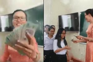 Cô giáo nhà người ta: Rút cả tập 500k mừng tuổi cho từng học sinh, cộng đồng mạng chỉ biết trầm trồ ghen tị