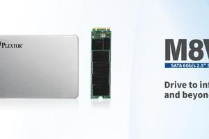 Lộ diện dòng SSD mới của Plextor mang tên gọi M8V Plus Series: Nhanh chóng mặt, dung lượng lên tới 1TB