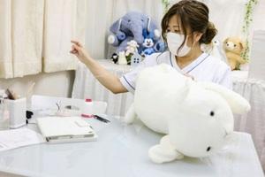 Độc lạ phòng khám chữa bệnh cho... thú nhồi bông ở Nhật,