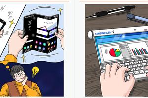 Đây sẽ là những chiếc điện thoại gập, cuộn trong tương lai của Samsung?