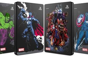 'Bảo vệ Vũ trụ Marvel' với ổ cứng Seagate Game Drive phiên bản giới hạn Marvel Avengers