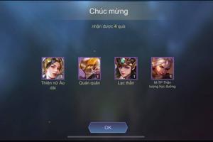 Game thủ Liên Quân trúng hết skin có yếu tố Việt Nam từ trước tới nay, sự thật là gì?