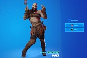 Chiến thần Kratos bị biến thành… trò hề