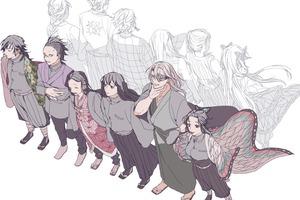Lạ lẫm khi ngắm dàn nhân vật Kimetsu no Yaiba qua loạt fan art siêu long lanh