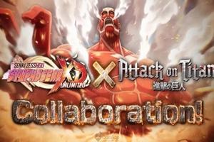 """Attack On Titan công bố dự án Crossover """"cực mạnh"""" với Symphogear XD UNLIMITED"""