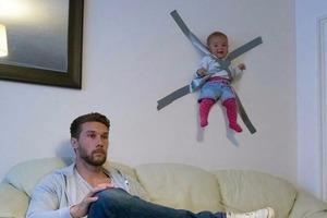 Loạt ảnh hài hước khi hội trẻ con được bố mẹ